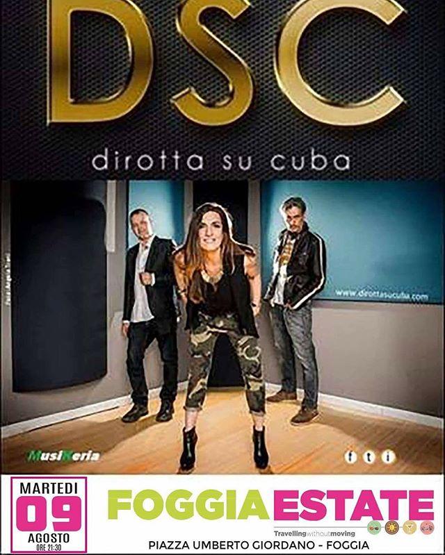 stasera-foggia-piazza-umberto-giordano-dirottasucuba-musicaitaliana-concerti-livemusic-funky-soul-gr
