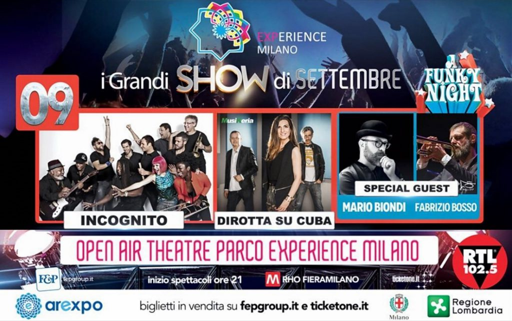 09 settembre 2017  THE FUNKY NIGHT